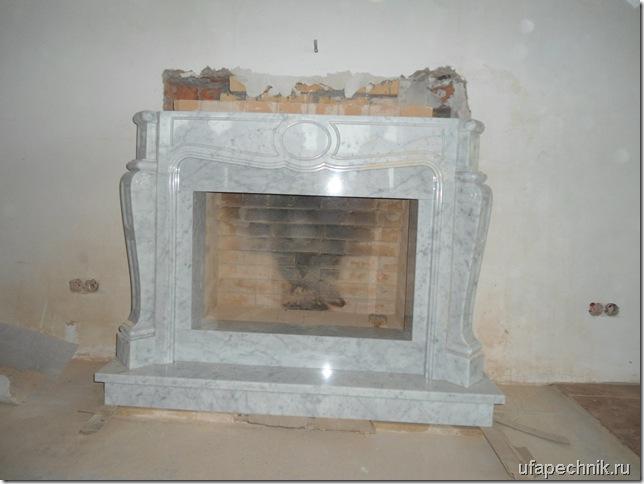 камин с порталом 002